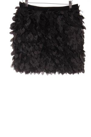 Rare london Minirock schwarz extravaganter Stil