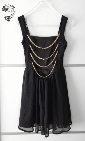 Rare London Rückenfreies Kleid mit Ketten Gr. S
