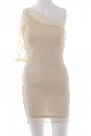 Rare london Spitzenkleid nude Blumenmuster Party-Look