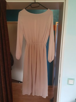 Rare london Midi Dress nude