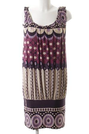 Rare Pinafore dress mixed pattern extravagant style