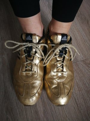 Rarität Adidas Tiago Sneaker Gold sondermodel Gr. 40 2/3