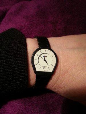 Reloj con pulsera metálica negro