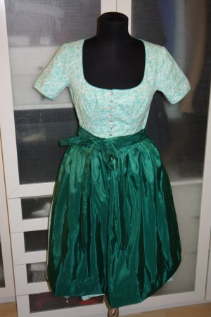 Dress lime-green-dark green