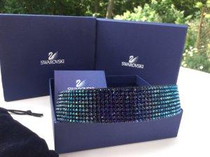Swarovski Haarband blauw