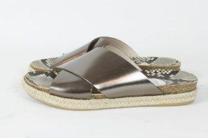 RAS Sandalen Gr. 38 metallic (E/MF/R/SC)