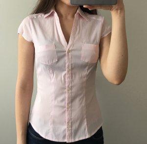 Raspberry fashion rosa Hemd kurzärmlig