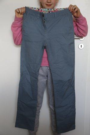 Boden Chinos grey-slate-gray cotton