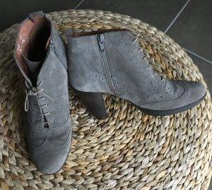 Raue Wildleder Stiefeletten ( Ankle Boots )