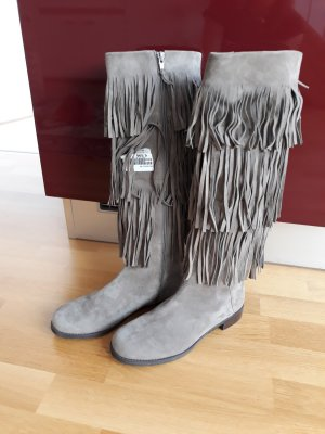 Stuart weitzman High Boots grey brown
