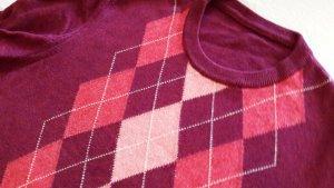 Pull en cashemire multicolore laine