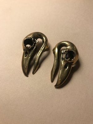 Raven Skull brass Weights