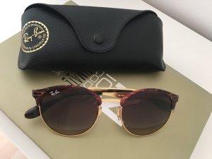Ray Ban 3545 Sonnenbrille Havana Gold Unisex Braun Gold Blogger