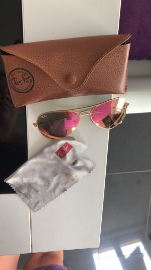 Ray Ban Glasses pink-gold-colored