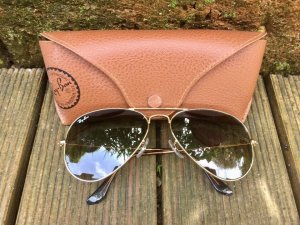 Ray Ban Aviator • Large • Gold • wie neu