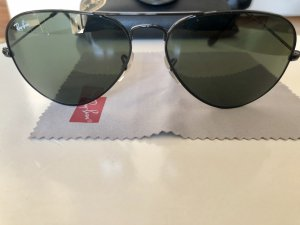 Ray-Ban Aviator large schwarz