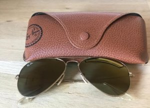 Ray-Ban Aviator large Sonnenbrille Gold-verspiegelt Rayban RB3025