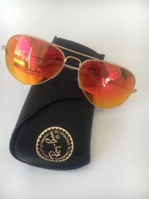 Ray-Ban Aviator orange/gold