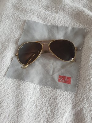 Ray Ban Glasses gold-colored-brown