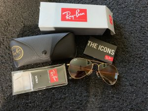 Ray ban aviator Sonnenbrille braun