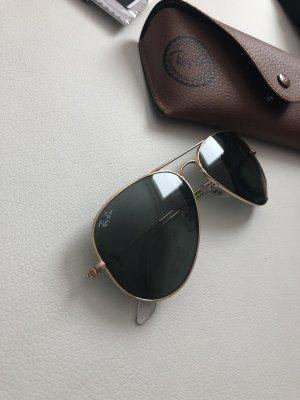 Ray Ban Aviator Sonnenbrille grün
