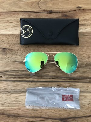 Ray Ban Glasses green metal