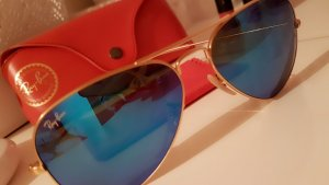 Ray Ban Glasses blue metal