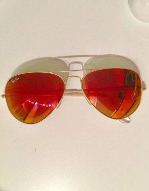 Ray-Ban Aviator verspiegelte Sonnenbrille