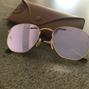 Ray Ban Glasses gold-colored-purple