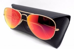 Ray Ban Gafas color rosa dorado