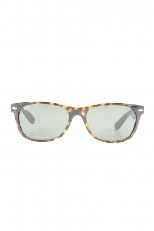 Ray Ban Glasses brown-beige spots-of-color pattern casual look
