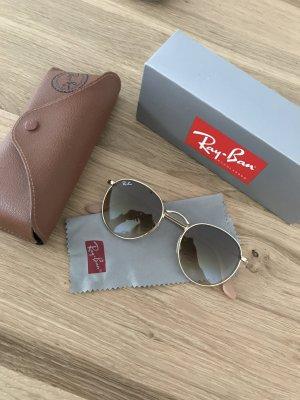 Ray Ban Gafas marrón claro-color oro