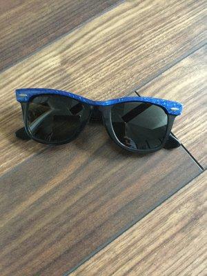 Ray Ban Zonnebril zwart-blauw