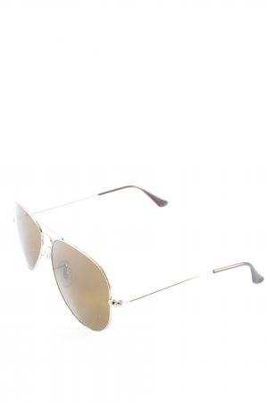 Ray Ban Brille goldfarben Casual-Look