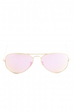 Ray Ban Bril goud-violet kleurverloop Beach-look