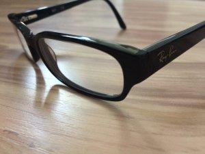 Ray ban brillengestell frauen brille schwarz rb5087 2000 53/16 140