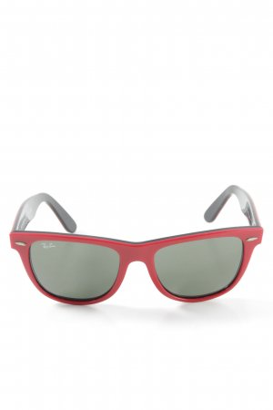 "Ray Ban Butterfly Glasses ""Wayfarer"" red"