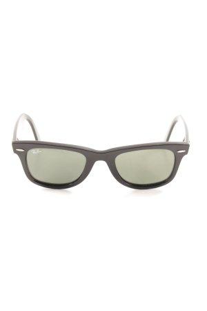 Ray Ban Butterfly Brille schwarz klassischer Stil