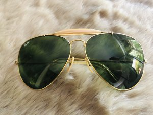 Ray Ban Bril donkergroen-goud