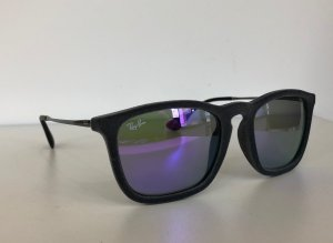 Ray Ban Retro Glasses silver-colored-lilac synthetic material
