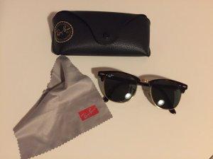 Ray Ban Clubmaster braun Sonnenbrille