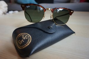 Ray Ban Clubmaster in Braun
