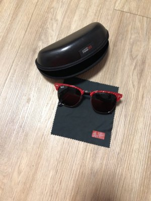 Ray Ban Glasses black-red