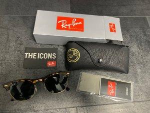 Ray Ban Retro Glasses black-brown glas