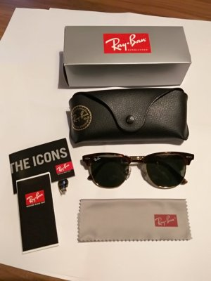 Ray ban Clubmaster Sonnenbrille mit OVP