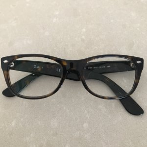 Ray Ban Glasses dark brown-black brown
