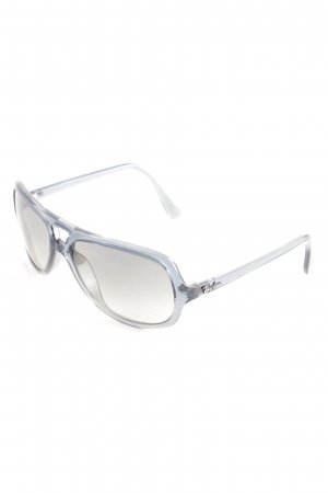 Ray Ban eckige Sonnenbrille graublau Casual-Look