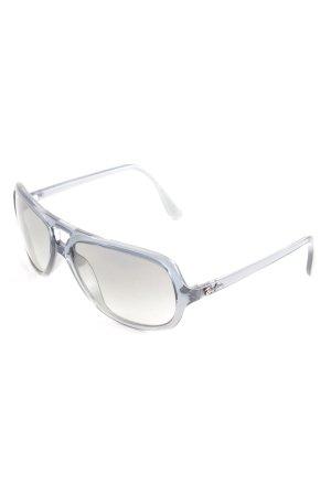 Ray Ban Hoekige zonnebril leigrijs casual uitstraling