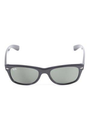 """Ray Ban eckige Sonnenbrille """"New Wayfarer"""" schwarz"""
