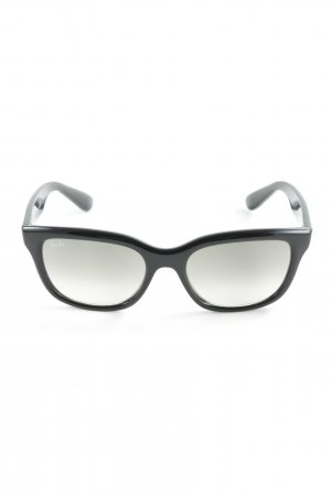 Ray Ban Angular Shaped Sunglasses black casual look